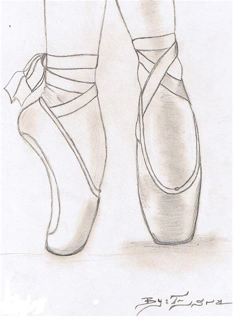 how to draw shoes how to draw a ballerina shoe search drawings 3