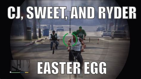 gta 5 cj house gta 5 cj easter egg how to find and kill cj sweet and ryder youtube