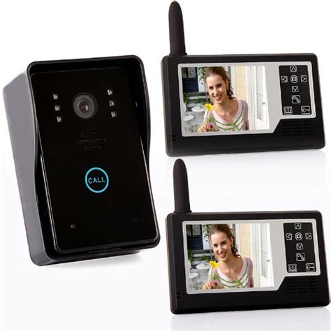 2 4g 3 5 quot tft wireless door phone intercom doorbell