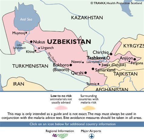 middle east malaria map uzbekistan malaria map fit for travel