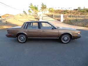 1986 Buick Century Limited 1986 Buick Century Limited Sedan In El Cajon Ca 1 Owner