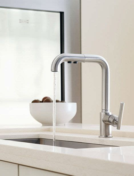 Kohler Purist Kitchen Faucet Kohler Purist Faucet Small Kitchen Ideas