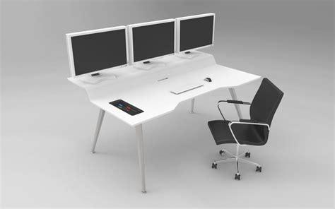 Future Desks by Nec Future Desk Step Iges 3d Cad Model Grabcad
