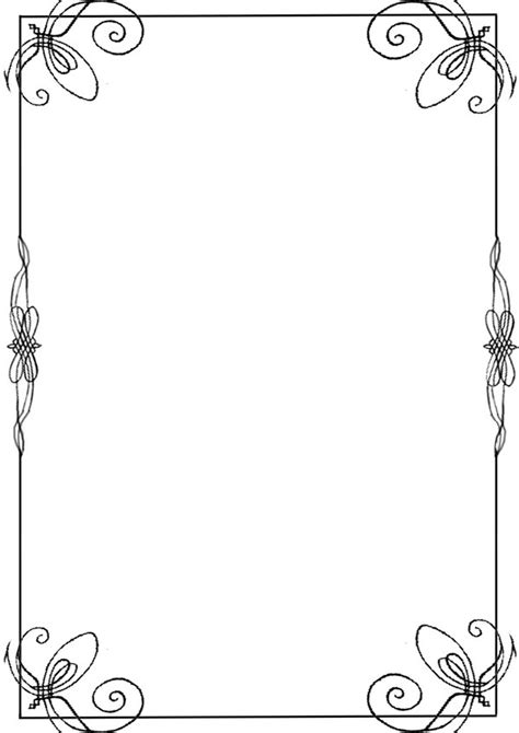 Cool Frame Designs Opeth Style Border By Scar Let On Deviantart