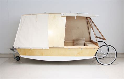 bed on wheels nomadic water bed on wheels lets you c on urban rivers