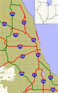 Chicago Highway Map by File Chicago Interstates Png Wikimedia Commons