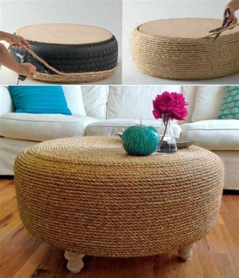 rope tire ottoman pinterest the world s catalog of ideas