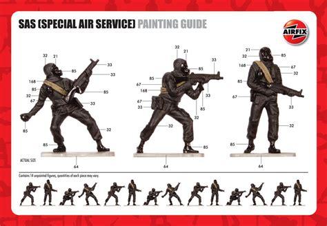 airfix a02720 sas special air service 1 32