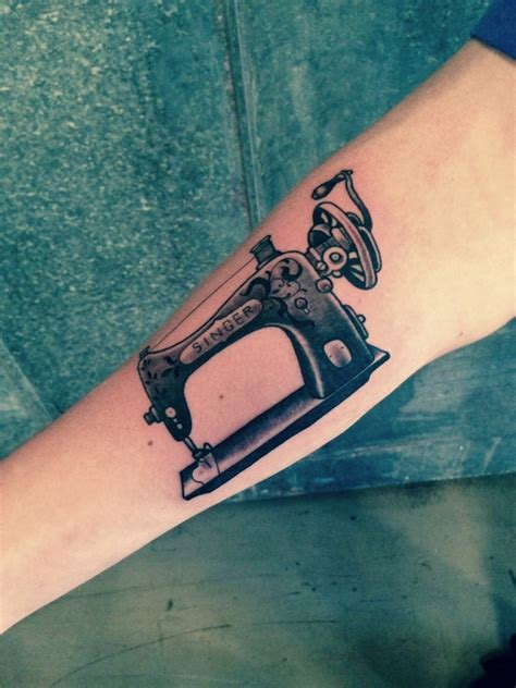 sewing machine tattoo 11 sewing spool tattoos ideas