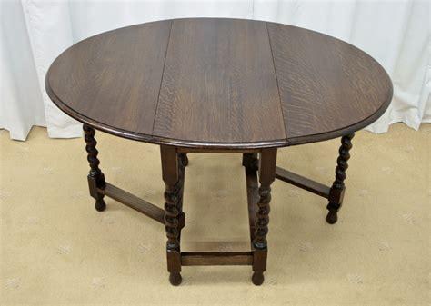 leaf tables for sale edwardian oak oval drop leaf table for sale antiques com