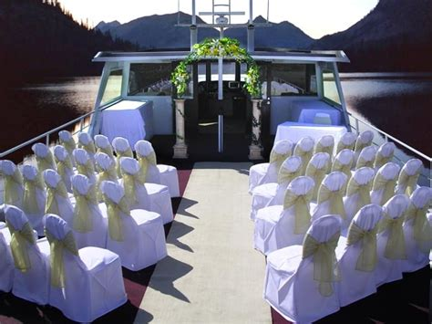 boat wedding decoration ideas 59 best images about wedding ceremony reception aboard a