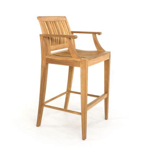 teak wood bar stools laguna teak outdoor bar stool and bar table set