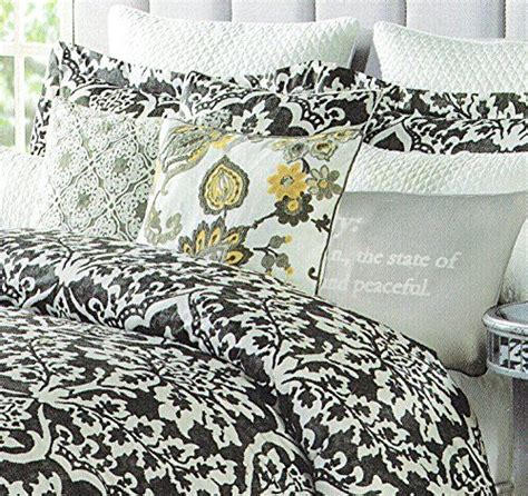 queen black white gray medallion damask bedroom 7 pc 17 best images about cute bedding on pinterest ralph