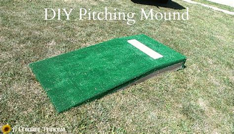 diy pitching mound diy