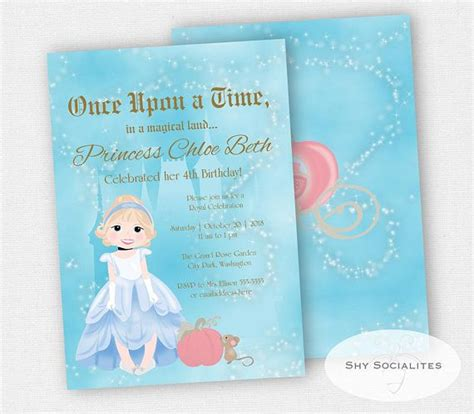 cinderella invitation to the template best 25 cinderella invitations ideas on