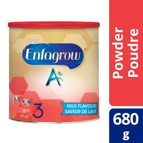 Formula Enfagrow Enfagrow A Milk Flavour Nutritional Supplement Walmart Ca