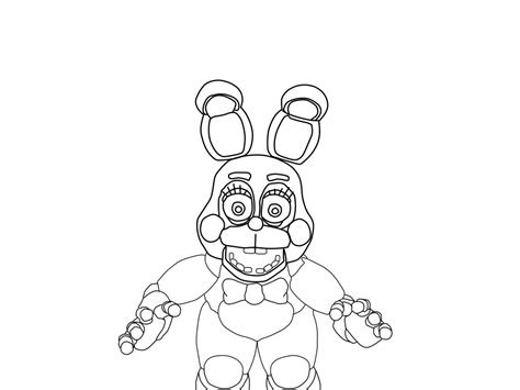 f naf 2 coloring pages chica toy f naf toy bonnie coloring pages