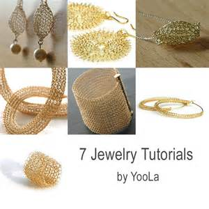 jewelry tutorials 7 pdf jewelry tutorials wire crochet patterns yoola