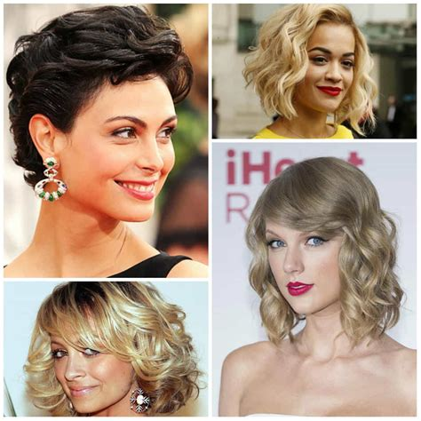 Hairstyles For 2017 Medium Length Shorter In Back by Curly Haircuts 2017 And Cuts Hairstyles