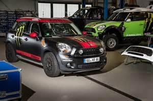 Mini Cooper Rally Suspension Mini Shows Cooper Countryman Dakar Rally Support Vehicle