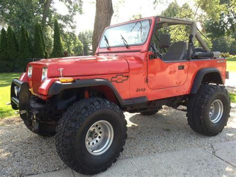 1989 Jeep Wrangler Transfer Sell Used 1989 Jeep Wrangler Yj W 383 Stroker Chevy Motor