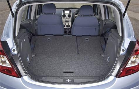 opel corsa trunk space image gallery opel zafira luggage capacity