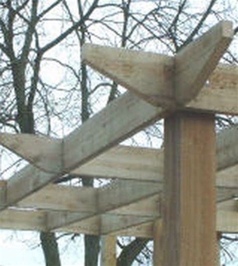 109 Best Images About Pergola Gazebos Decorating Ideas Pergola Rafter Ends