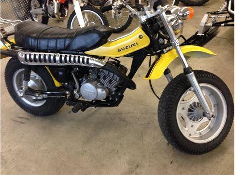 Suzuki Rv125 For Sale Buy 1974 Suzuki Tc100 On 2040 Motos