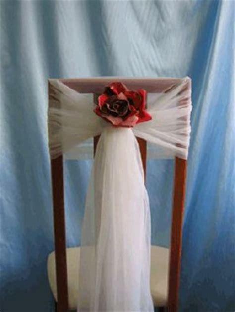 Stuhldekoration Hochzeit by Kleine Alternative Zu Stuhlhussen Stuhldeko