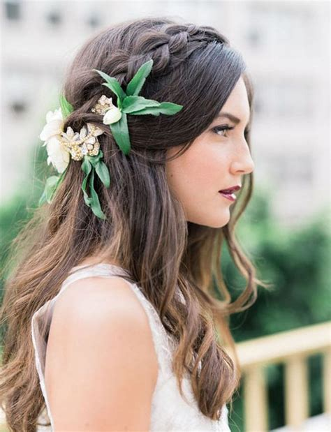 Best Boho Wedding Hairstyles by 17 Best Ideas About Wedding Hairs On Boho