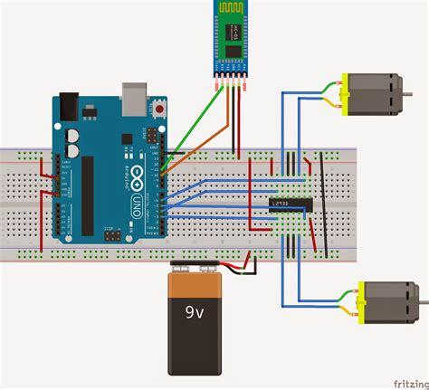 membuat robot dengan joystick arduino and android voice control robot how to make a
