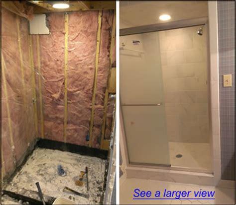 Apex NC Shower Remodeling   Bath Tub to Shower Remodeling