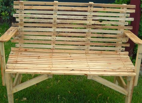 simple pallet bench 39 ideas about pallet outdoor furniture for modern look