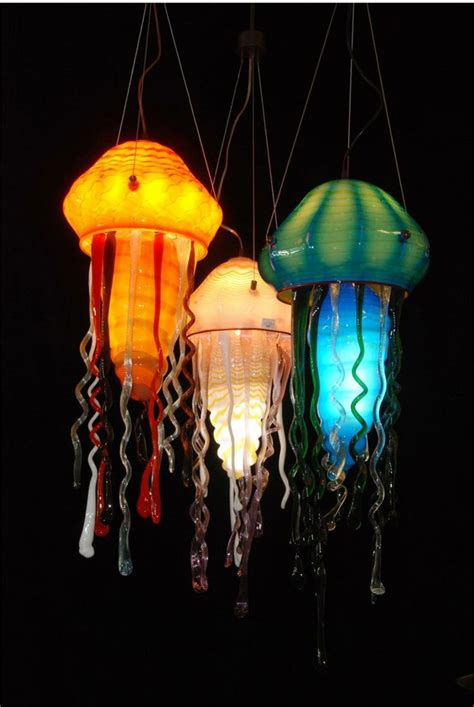 Jellyfish Light by 17 Best Ideas About Blown Glass On Blown