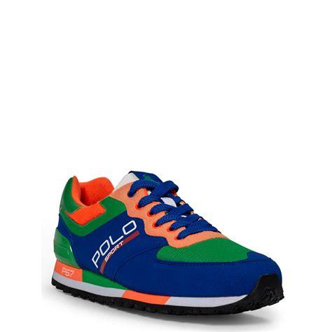 polo sport ralph shoes lyst ralph slaton tech polo sneaker for