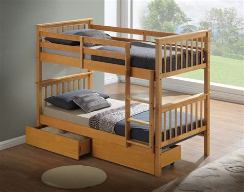 Childrens Wooden Bunk Beds Artisan New Wooden Bunk Bed Beech