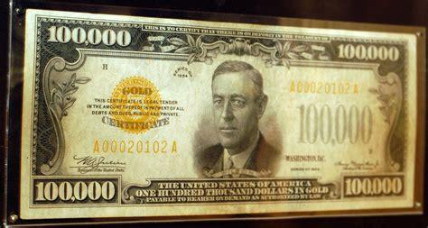 $100,000 Bill « CBS Boston $100000 Bill
