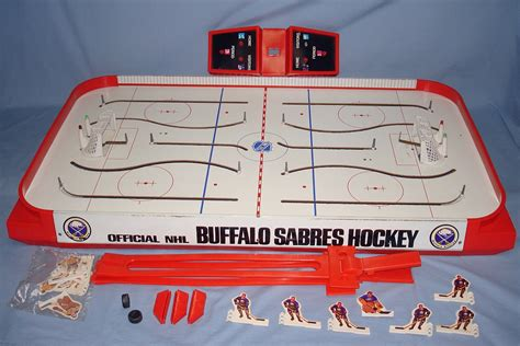 table hockey games for sale 1972 coleco official nhl buffalo sabres vs boston bruins