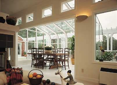 curved eave sunrooms bee window fishers