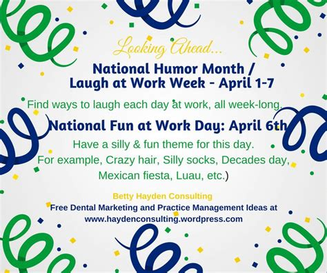 fun themed events for work dental practice management ideas for april dental and