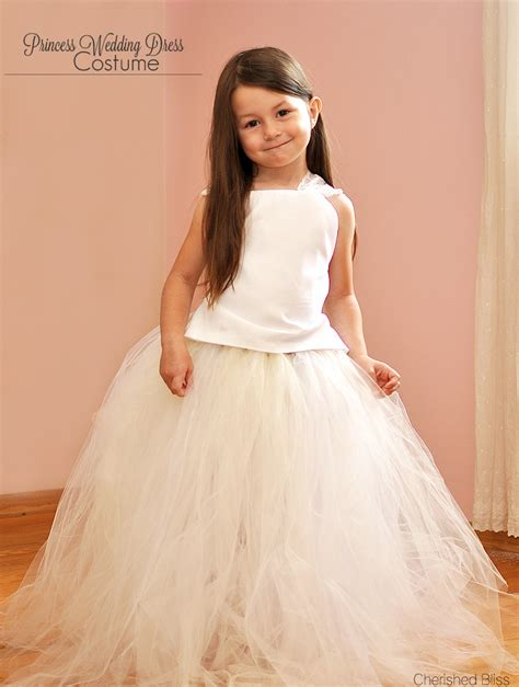 Wedding Dress Costume by Princess Wedding Dress Costume Tutorial Cherished Bliss