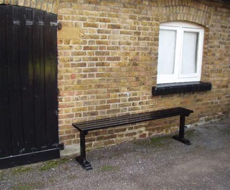leisure bench ltd hadham steel bench branson leisure esi external works