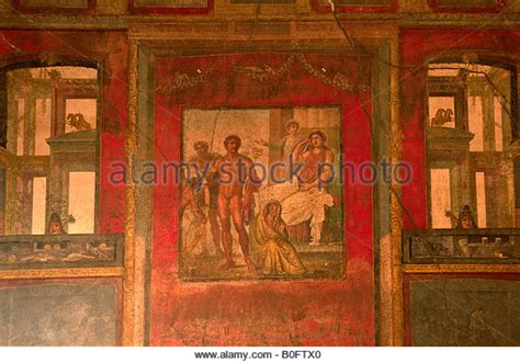 pompeii house of the vettii wall painting khan academy house of pompeii stock photos house of pompeii stock