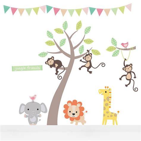 safari animal wall stickers best 20 jungle wall stickers ideas on