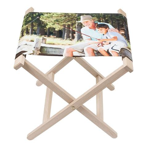 sgabello pieghevole legno sgabelli personalizzati sgabello pieghevole personalizzato