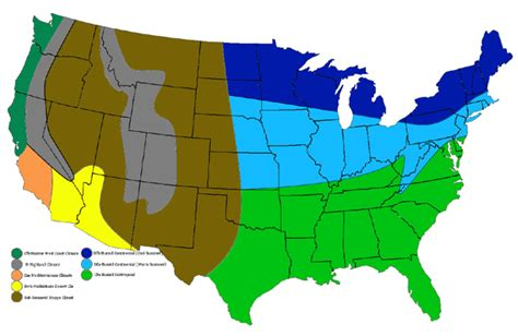 usa map climate zones aaapoe cus 001 geography 地理館 地理馆 001 001