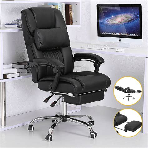 Reclining Back Chair Executive Office Chair Ergonomic High Back Reclining