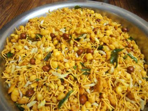 aval poha masala mixture recipe