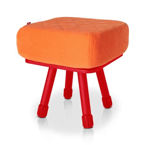 Stool Is Orange by Fatboy 174 Krukski Stool Orange