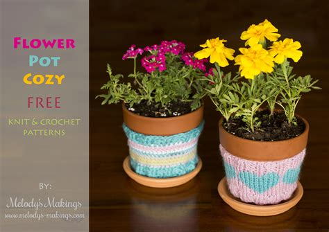 pattern of flower pot flower pot cozy free patterns perfect for mother s day